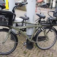 Triple double. Three seat Double Dutch bike.