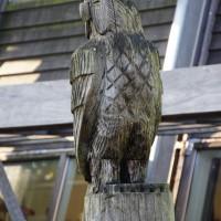 Wooden owl?