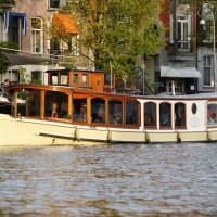 Hilda Saloon boat on the Amstel River