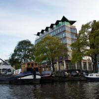 Building on the Sarphatistraat at Amstel