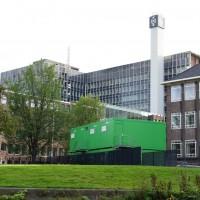 Amsterdam University building demolition project