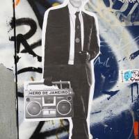 Random street art, alley