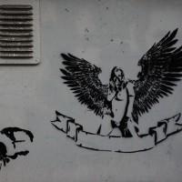 Random street art - stencils