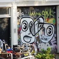 Random street art, Prinsengracht