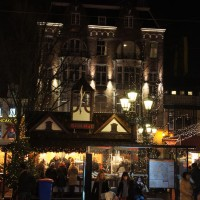 Little winter market on Leidseplein
