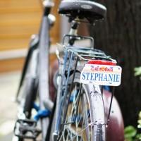 The neighbour girl's bike.