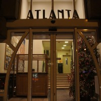 Great architecture and lettering style on the Atlanta building.