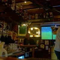 "Casper at work in the Bar ""Cafe Hotel Internationaal"" on the Warmoesstraat"