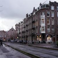 Tram lines on the Ruysdaelstraat