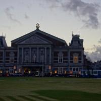 Impressive looking Concertgebouw (concert building) on Van Baerlestraat