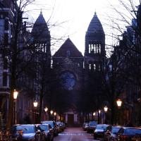 Obrechtkerk at the end of Palestrinastrat
