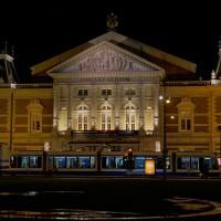 Concertgebouw and tram in front