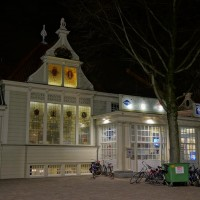 Information and ticket office at Centraal Station