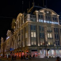 North-east side of the Dam Plaza and the Bienkorf department store
