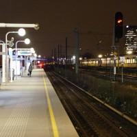 Station Zuid platform looking east