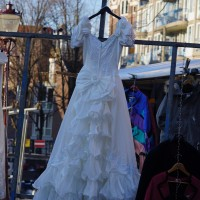 Is it good luck to wear a 'slightly used' wedding dress?
