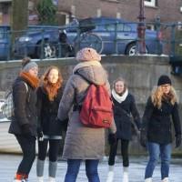 University of Amsterdam students.