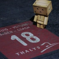 Thalys tiles show where your car will be standing.