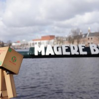 Magere means 'Skinny' and Brug means 'bridge'