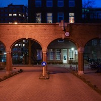 Archway near the Overtoom, Amsterdam