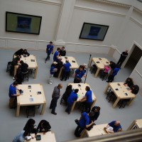 Apple store will be very good for Amsterdam. Nice monitors!