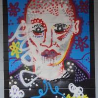 More randomly vandalized street art