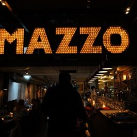 Pizzaria across the street from, and name stolen from, the original Mazzo Club.