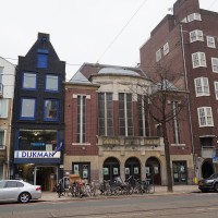The old Rozen Theatre on the Rozengracht