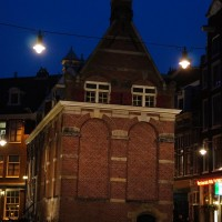 Stichting Heemschut Hulpfunds freestanding building on Nieuwezijds Kolk
