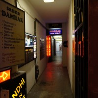 """Unfortunately, one of the best Indian restaurants in Amsterdam is under a """"Private Sauna"""""""