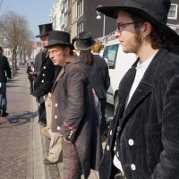 Journeymen from Germany taking in the beauty of Amsterdam