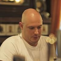 Barman at the Hotel International