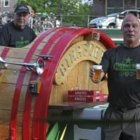 Heineken guys on the Beer Barrel Boat